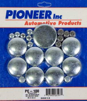 Pioneer Automotive Products - Pioneer 350 Chevy Freeze Plug Kit - Steel