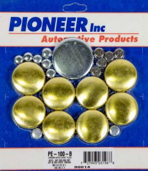 Pioneer Automotive Products - Pioneer 350 Chevy Freeze Plug Kit - Brass
