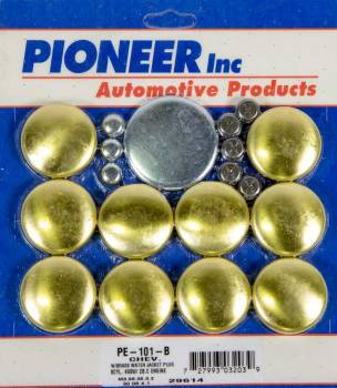 Pioneer Automotive Products - Pioneer 400 Chevy Freeze Plug Kit - Brass