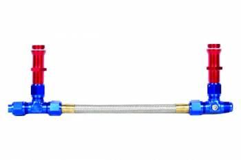 Professional Products - Professional Products Powerflow Carburetor Inlet Kit - Holley 4500 Carburetor w/ 7/8-20 Thread/-8AN Inlet