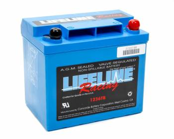 Lifeline Racing Batteries - Lifeline Batteries AGM Heavy Duty Deep Cycle Racing Battery - 12 Volt