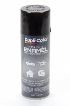 Dupli-Color - Dupli-Color® Premium Enamel - 12 oz. Can - Gloss Black (OSHA)