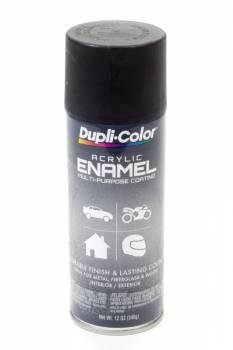 Dupli-Color - Dupli-Color® Premium Enamel - 12 oz. Can - Semi Gloss Black