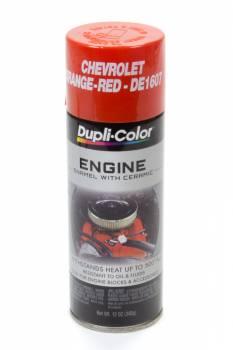 Dupli-Color - Dupli-Color® Engine Enamel - 12 oz. Can - Chevrolet Orange-Red