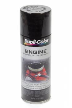 Dupli-Color - Dupli-Color® Engine Enamel - 12 oz. Can - Gloss Black