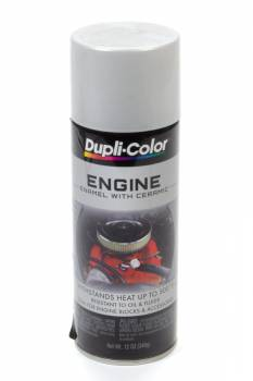 Dupli-Color - Dupli-Color® Engine Enamel - 12 oz. Can - Aluminum
