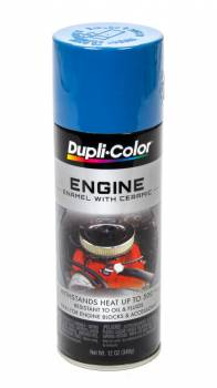Dupli-Color - Dupli-Color® Engine Enamel - 12 oz. Can - Chrysler Corp. Blue