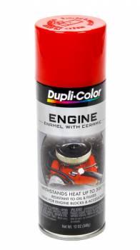 Dupli-Color - Dupli-Color® Engine Enamel - 12 oz. Can - Red