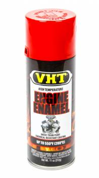 VHT - VHT Hi-Temp Engine Enamel - Bright Red - 11 oz. Aerosol Can