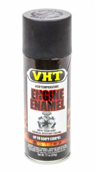 VHT - VHT Hi-Temp Engine Enamel - Flat Black - 11 oz. Aerosol Can