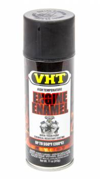 VHT - VHT Hi-Temp Engine Enamel - Satin Black - 11 oz. Aerosol Can