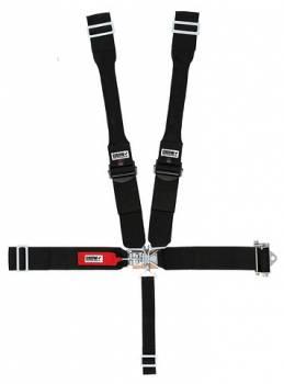 "Crow Enterprizes - Crow Sprint Car & Midget Ratchet Latch & Link Restraint System w/ 3"" Aluminum Adjuster - 55'' Seat Belt w/Dog Bone Harness"