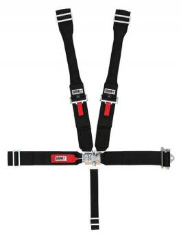 Crow Enterprizes - Crow Sprint Car & Midget Ratchet Latch & Link Restraint System - 55'' Bolt-In Seat Belt w/ Dog Bone Harness