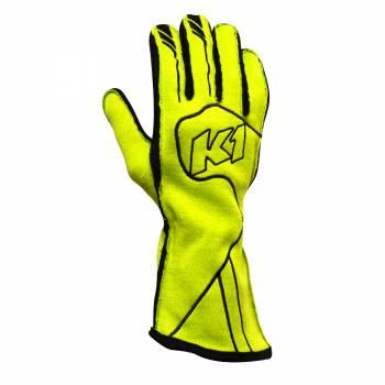 K1 Race Gear Champ Glove - Fluo Yellow 23-CHP-FY