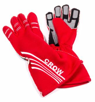 Crow All-Star Nomex? Driving Glove - Red