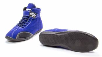 Crow Mid-Top Driving Shoes - Blue