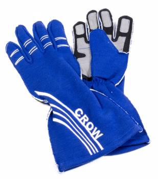 Crow All-Star Nomex Driving Glove - Blue