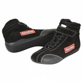 RaceQuip - RaceQuip Euro Ankletop Racing Shoes - Black -Size 7