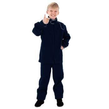 Crow Junior 1 Layer Proban Driving Pants - Black