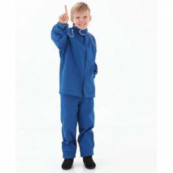 Crow Junior 1 Layer Proban Driving Pants - Blue