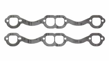 "Beyea Custom Headers - Beyea Custom Headers 1.550 x 1.670"" D Port Exhaust Manifold/Header Gasket Graphite"