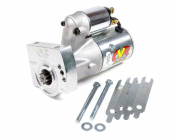 CVR Performance Products - CVR Performance Products Protorque Ultra Starter 5 Position Mounting Block 4.4:1 Gear Reduction - 168 Tooth Flywheel - GM LS-Series