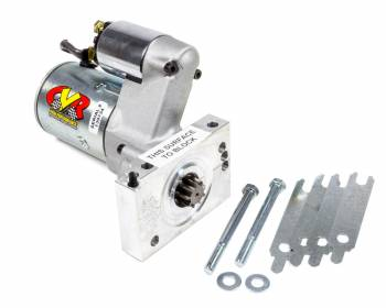 CVR Performance Products - CVR Performance Products Protorque Ultra Starter 5 Position Mounting Block 4.4:1 Gear Reduction - 153 or 168 Tooth Flywheel - Straight Mount