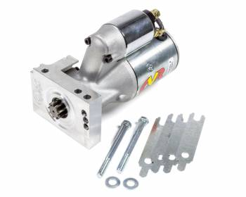 CVR Performance Products - CVR Performance Products Protorque Ultra Starter 5 Position Mounting Block 4.4:1 Gear Reduction - 168 Tooth Flywheel - Staggered Mount