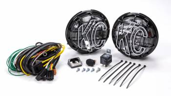 "KC HiLiTES - KC HiLiTES Apollo Pro Series Light Assembly Driving 6"" Round"