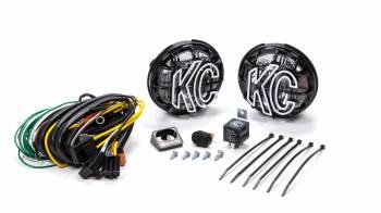 "KC HiLiTES - KC HiLiTES Apollo Pro Series Light Assembly Driving 5"" Round"