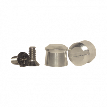 Pulse Racing Innovations - Pulse Aluminum Tear Off Posts - Silver
