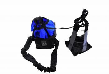 RJS Racing Equipment - RJS Sportsman Chute W/ Nylon Bag and Pilot - Blue
