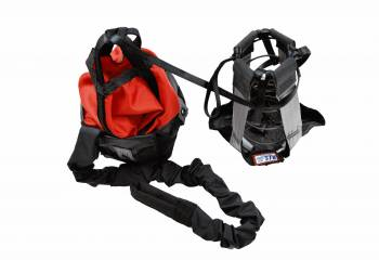 RJS Racing Equipment - RJS Sportsman Chute W/ Nylon Bag and Pilot - Red