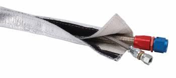 "Design Engineering - Design Engineering Heat Shroud - 3/4"" I.D. x 3ft - Aluminized Slee"