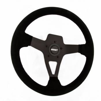 Grant Steering Wheels - Grant Steering Wheels Edge Series Steering Wheel Black Suede
