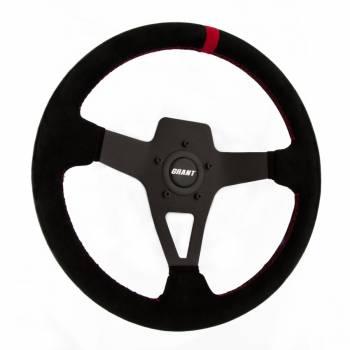 Grant Products - Grant Steering Wheels Edge Series Steering Wheel Black Suede