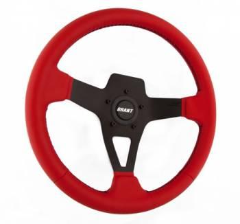Grant Products - Grant Steering Wheels Edge Series Steering Wheel Red Vinyl