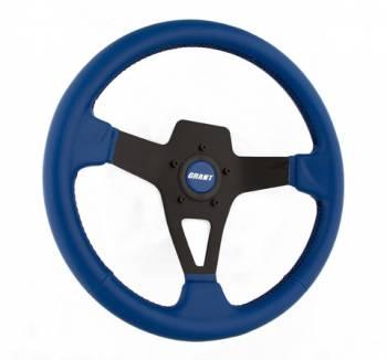 Grant Steering Wheels - Grant Steering Wheels Edge Series Steering Wheel Blue Vinyl