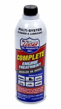 Lucas Oil Products - Lucas Oil Products Complete Engine Treat ment 16 Oz.