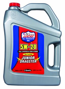Lucas Oil Products - Lucas Oil Products Jr. Dragster-Karting Oil 5 Qt Jug