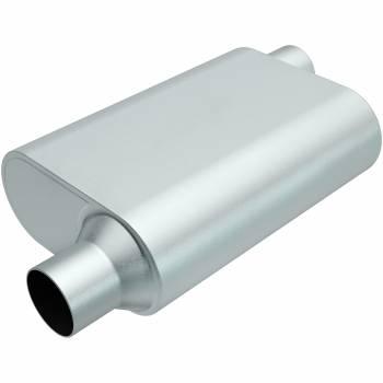 "Magnaflow Performance Exhaust - Magnaflow Performance Exhaust Rumble Aluminizd Muffler 2.25"" Offset In/Out"