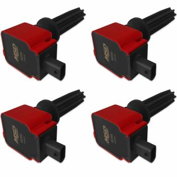Mallory Ignition - Mallory Ignition Coil 4pk Ford Eco-Boost 2.0L/2.3L Red