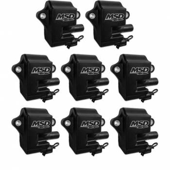 Mallory Ignition - Mallory Ignition Coils 8pk GM LS Series LS1/LS6 BLack