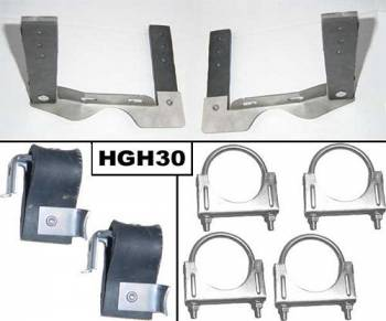 """Pypes Performance Exhaust - Pypes Performance Exhaust 2.5"""" GTO Stainless Hang er Kit"""
