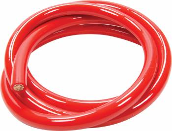 QuickCar Racing Products - QuickCar Racing Products Power Cable 2 Gauge Red 5Ft