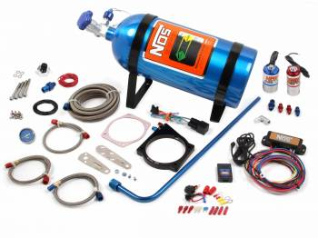 NOS - Nitrous Oxide Systems - Nitrous Oxide Systems (NOS) 90MM LS NOS Plate Kit w/Drive By Wire T-Body