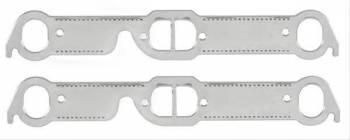 Mr. Gasket - Mr. Gasket Alum. Exhaust Gasket Set Pontiac w/D/Oval Ports