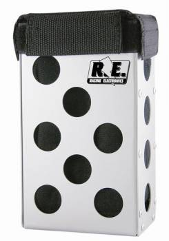 "Racing Electronics Aluminum Radio Box - 1-3/4"" Roll Bar Mount"