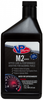 VP Racing Fuels - VP Racing M2™ Upper Lube & Performance Additive - Alcohol Fuels - 16 oz. (Case of 12)