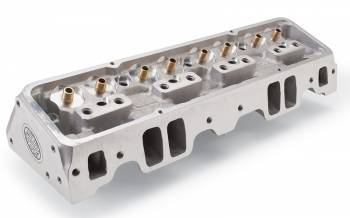 Edelbrock - Edelbrock SBC NHRA Legal Cylinder Heads 64cc S/P Bare